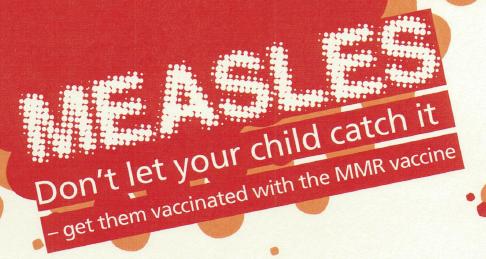 Measles  leaflet